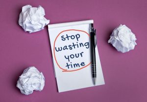 wasting time-new